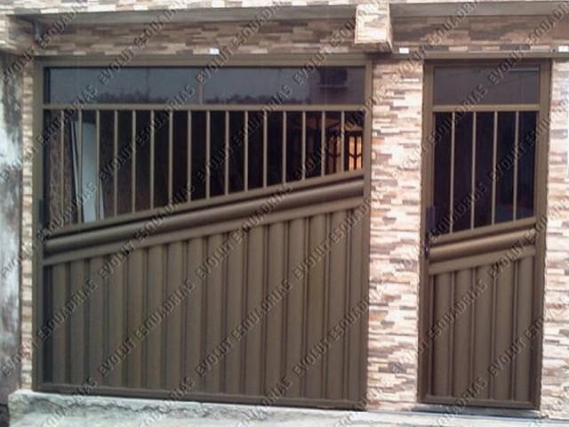 Fotos de Portão de Alumínio