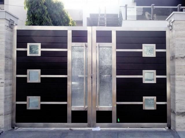 Residências Modernas que Usam Portões