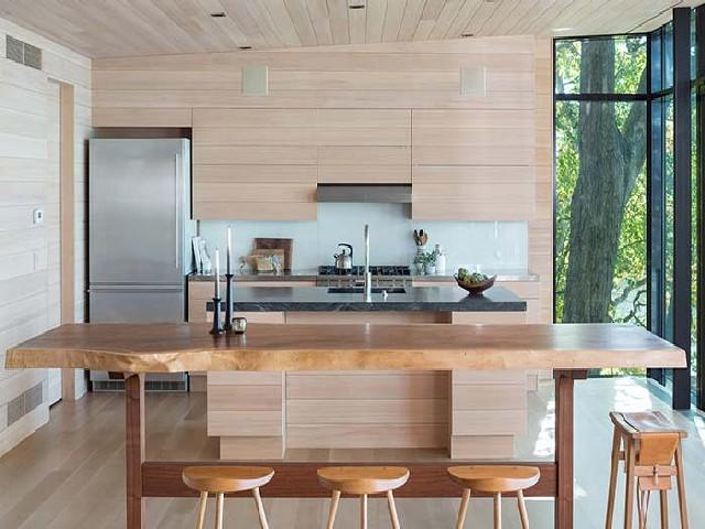 Armário Planejado De Cozinha Rústica8