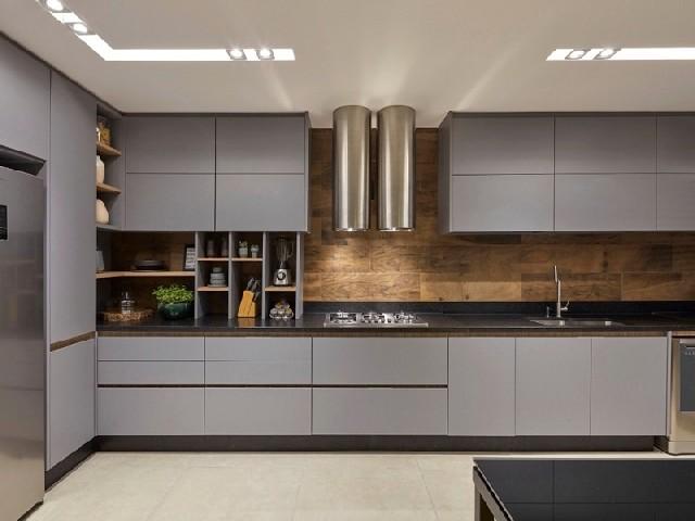 Armário Planejado De Cozinha Simples2