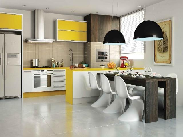 Armário Planejado De Cozinha Simples6