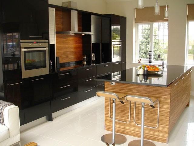 Bancadas Com Granito Preto Absoluto Em Cozinha Rústica6