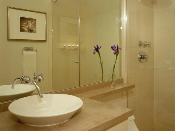 Banheiro Decorado Bege5