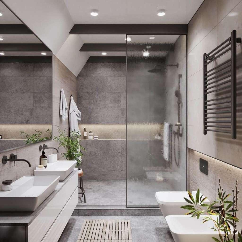 Banheiro Pequeno Decorado1