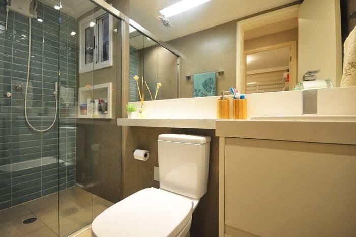 Banheiro Pequeno Decorado13