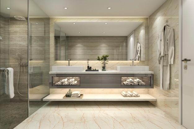 Banheiro Pequeno Decorado14