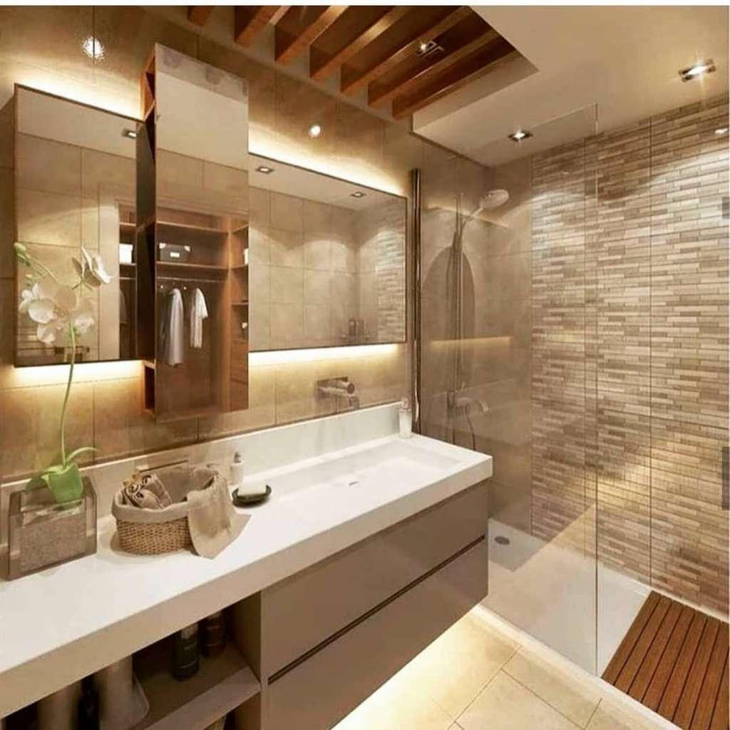 Banheiro Pequeno Decorado16