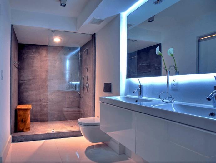 Banheiro Pequeno Decorado9