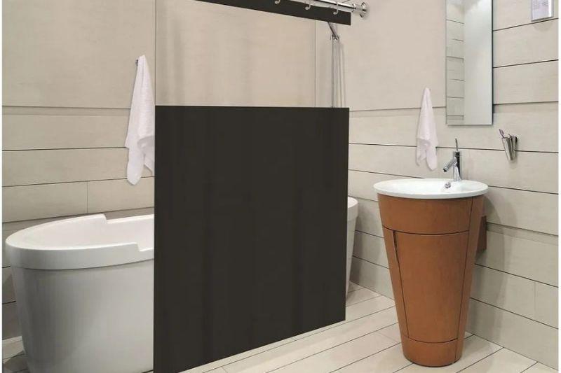 Banheiro Preto E Branco (11)