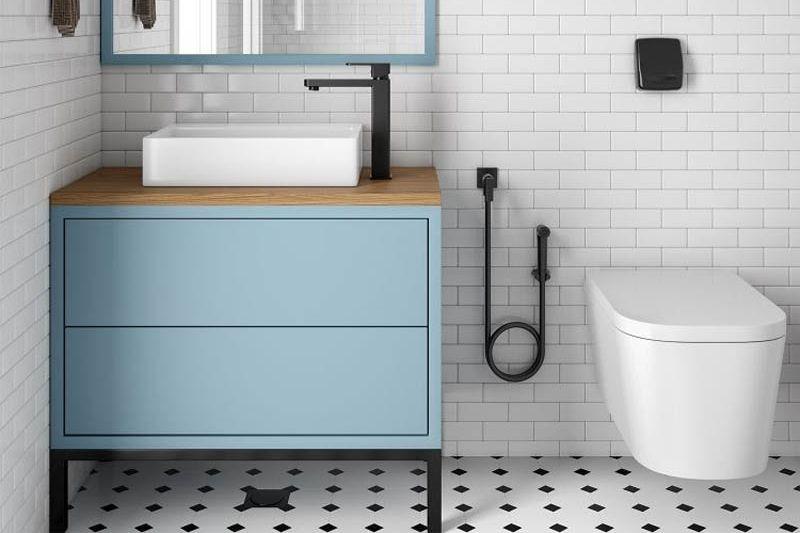 Banheiro Preto E Branco (12)
