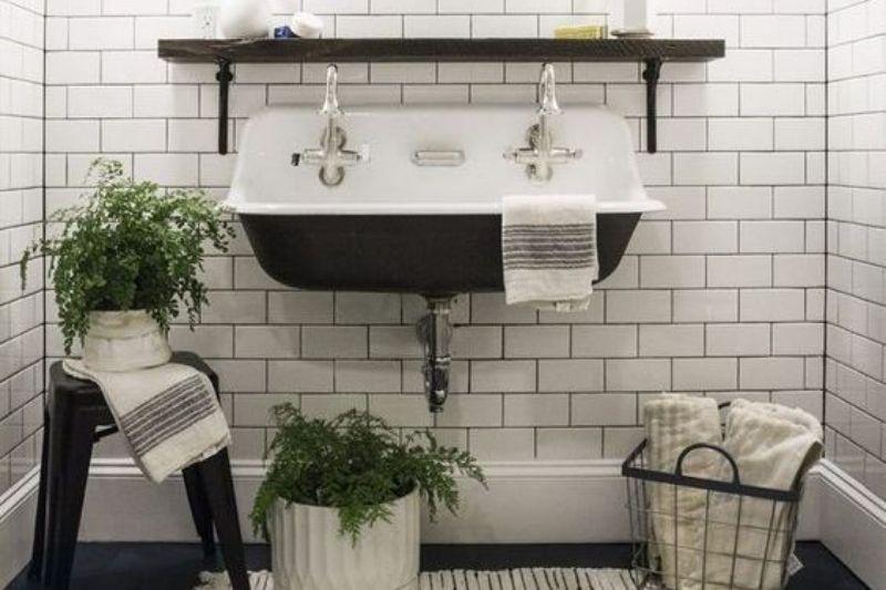 Banheiro Preto E Branco (13)