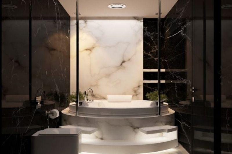 Banheiro Preto E Branco (15)