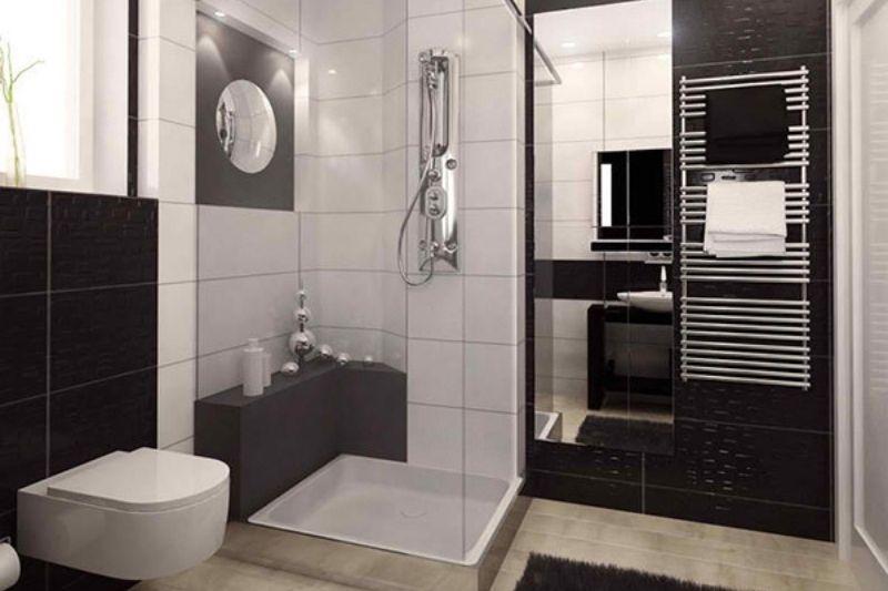 Banheiro Preto E Branco (16)