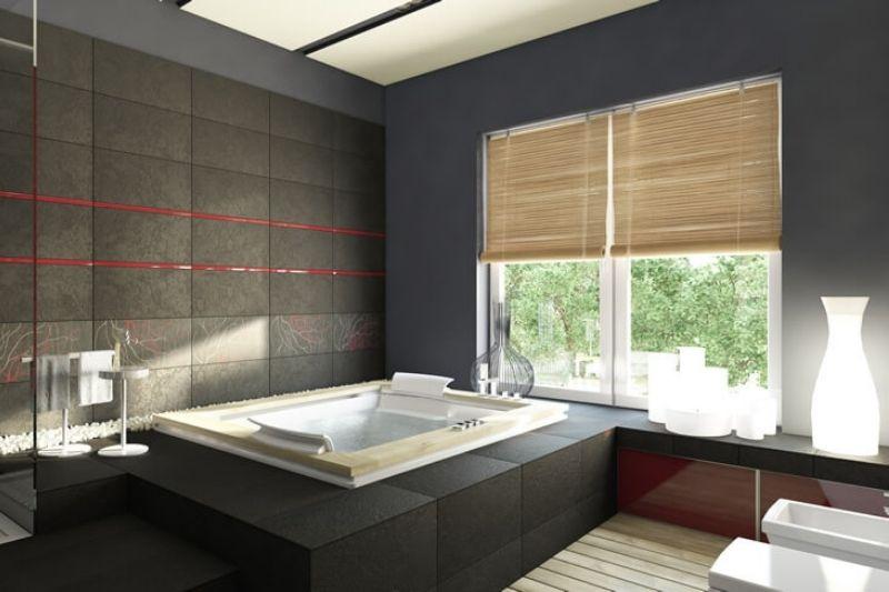 Banheiro Preto E Branco (17)