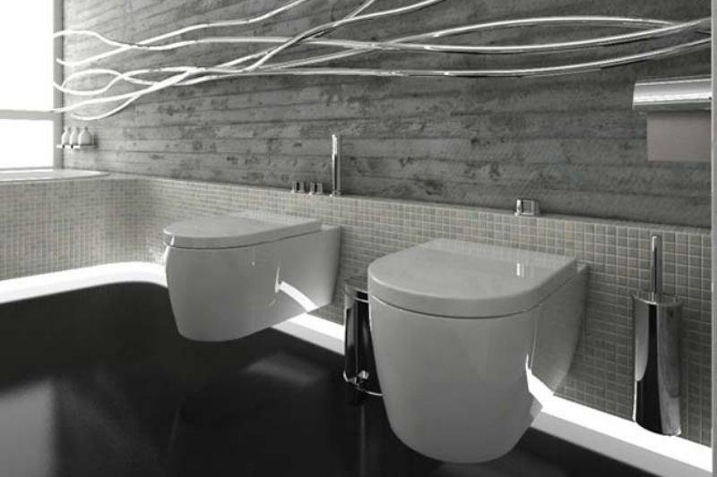Banheiro Preto E Branco (19)
