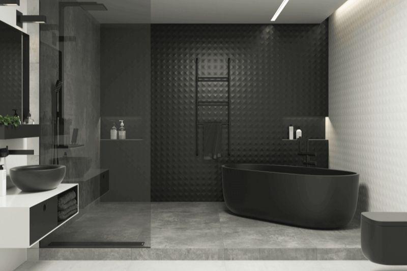 Banheiro Preto E Branco (2)