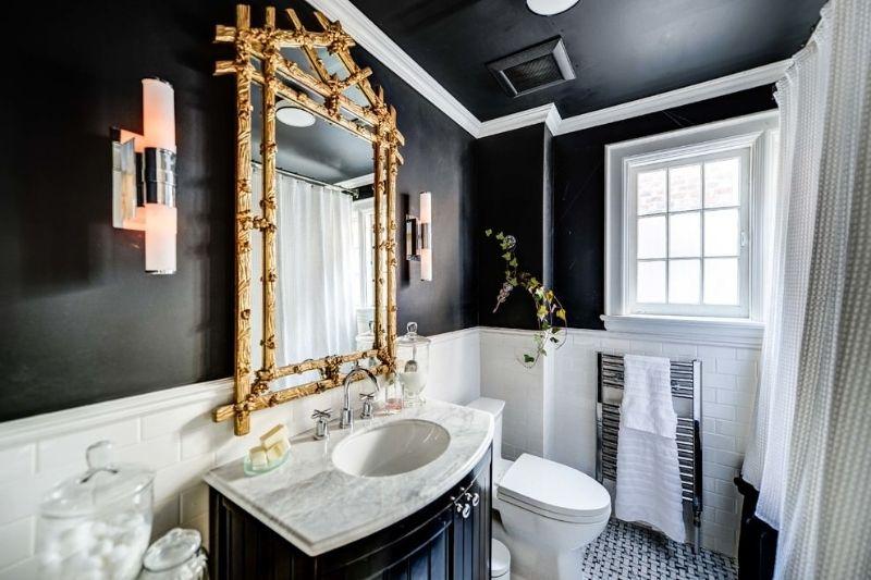 Banheiro Preto E Branco (7)