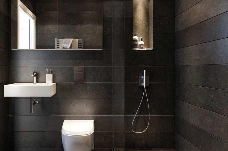 Banheiro Preto E Branco (8)