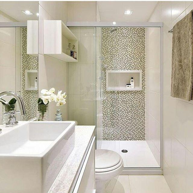 Banheiros Pequenos Com Pastilhas1
