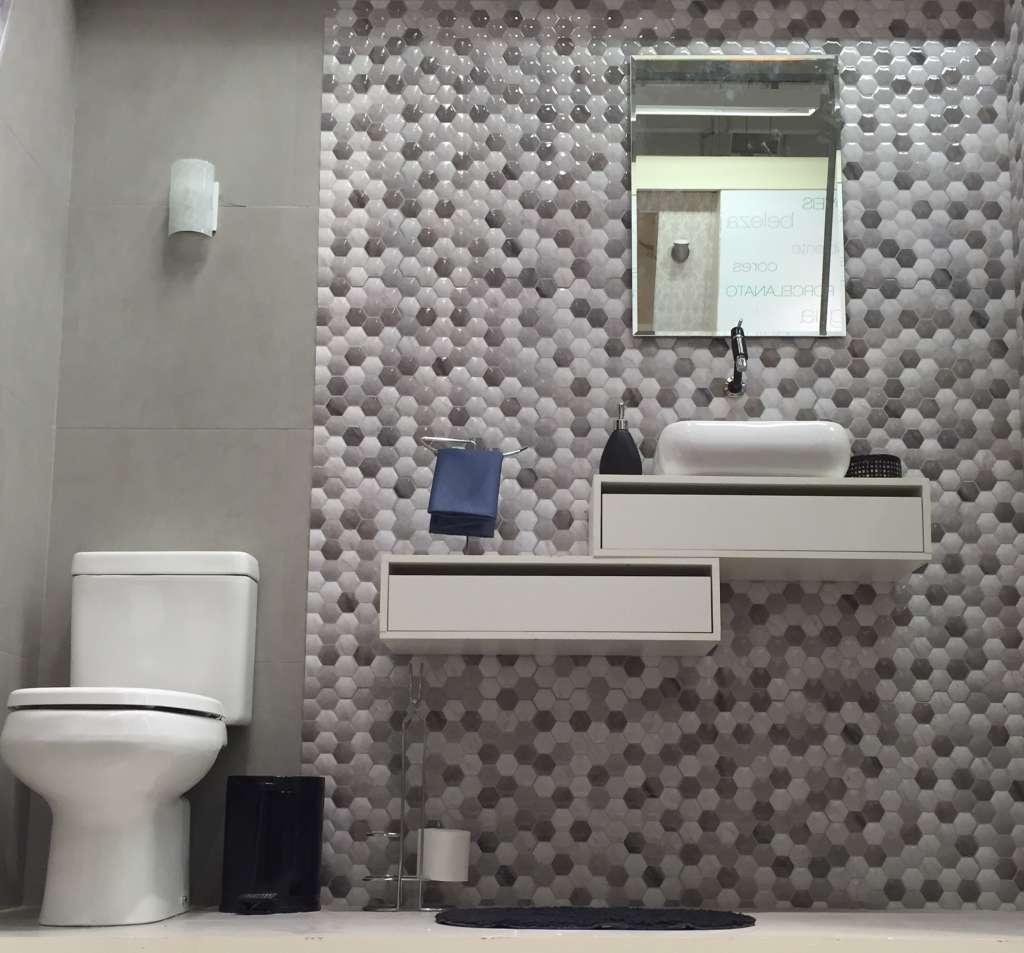 Banheiros Pequenos Com Pastilhas2