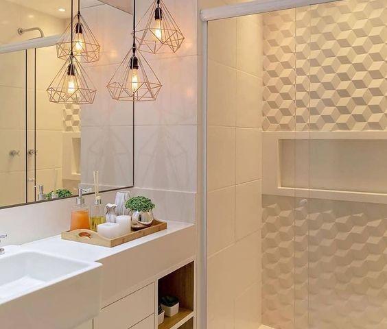Banheiros Pequenos Com Pastilhas4