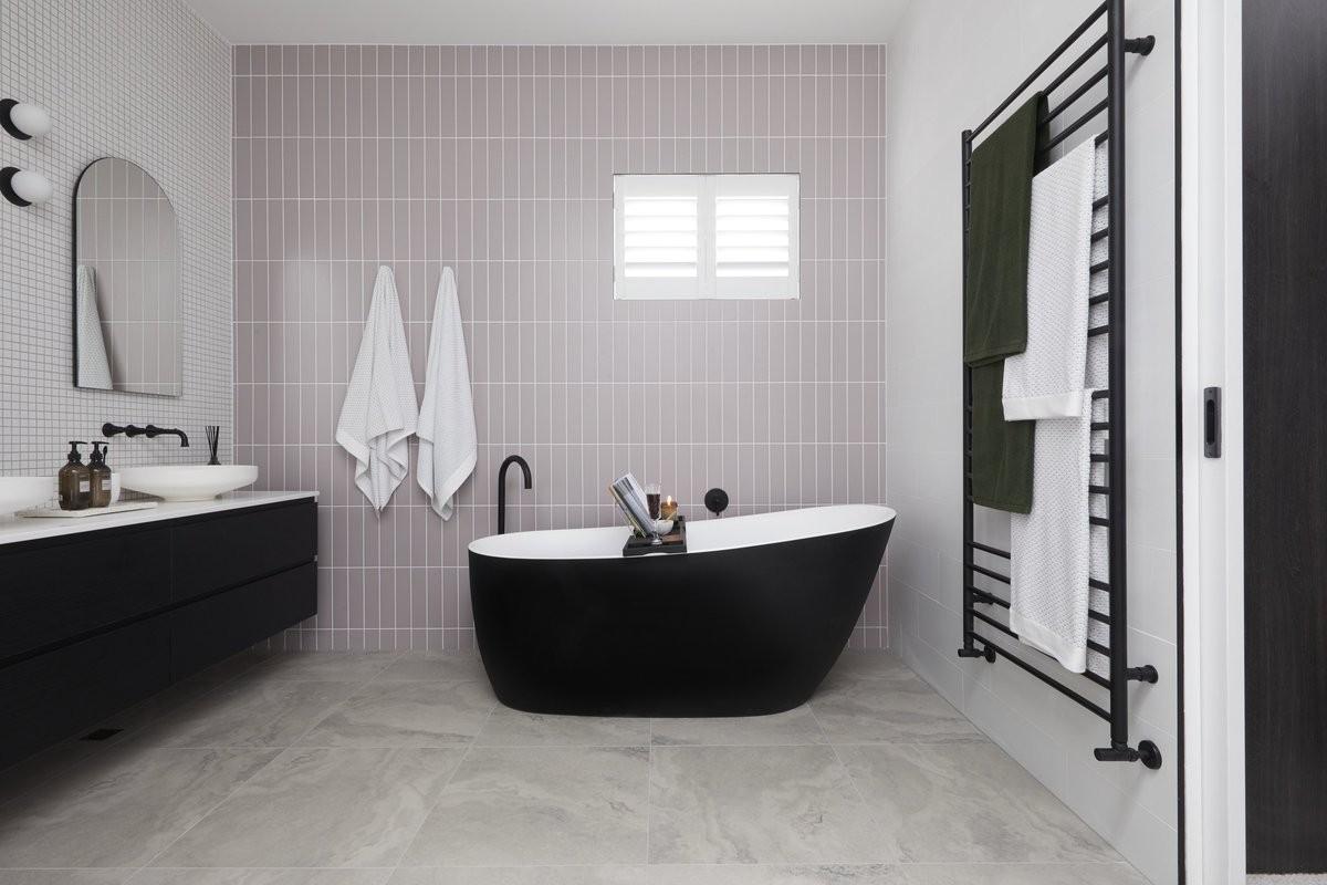 Banheiros com Pastilhas – 55 FOTOS E IDÉIAS INCRÍVEIS!