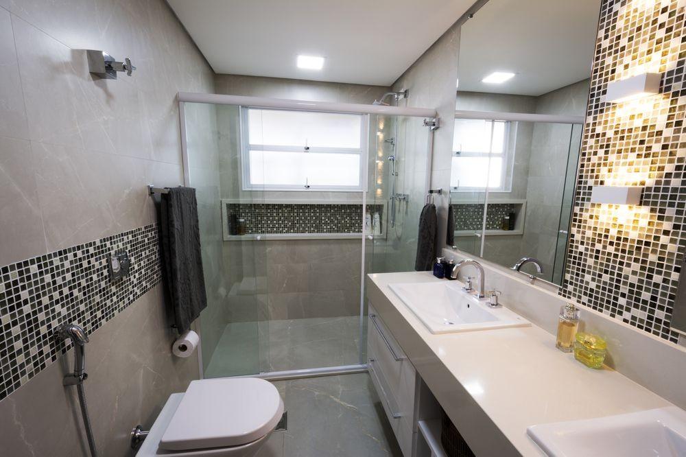 Banheiros Com Pastilhas No Box1