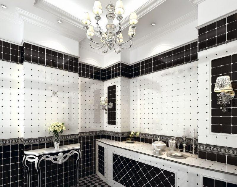 Banheiros Em Preto E Branco3