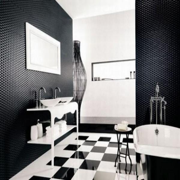Banheiros Em Preto E Branco5