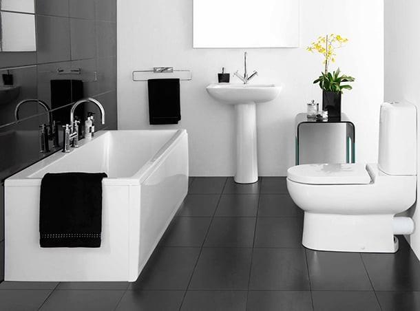 Banheiros Em Preto E Branco6