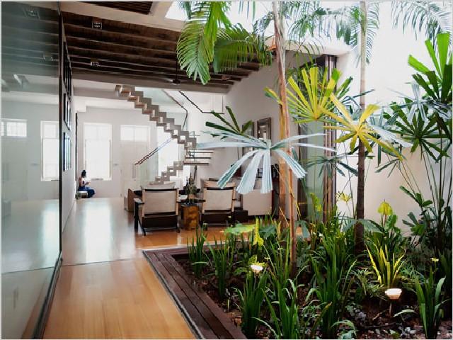 Casa De Jardim Interno3