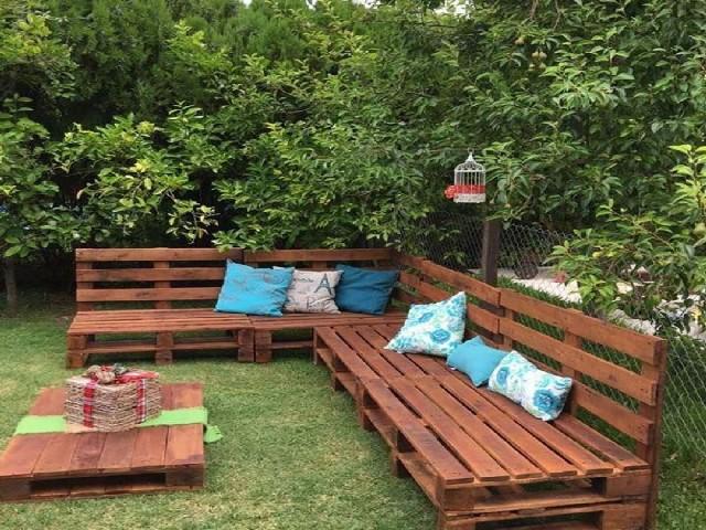 Casa De Jardim Com Pallets4