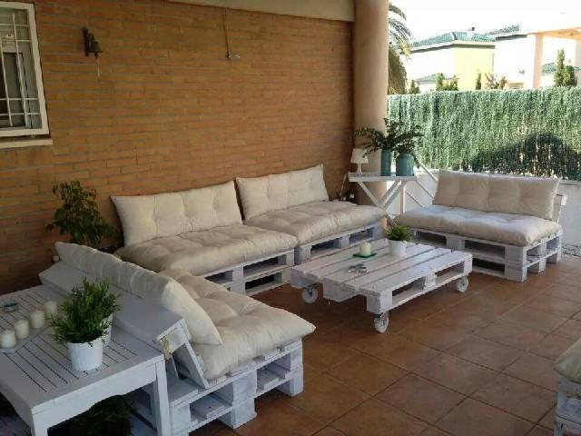 Casa De Jardim Com Pallets5