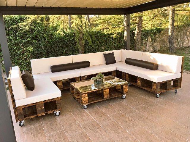 Casa De Jardim Com Pallets6