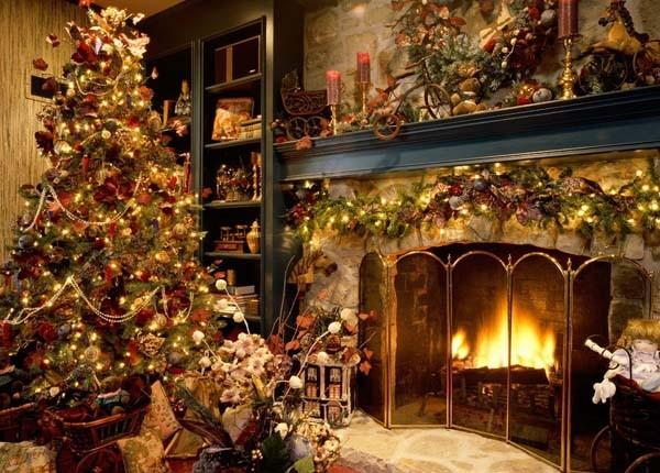 Casas Decoradas Para O Natal5