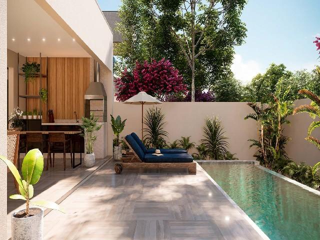 Casas Com Jardins Coloridos1