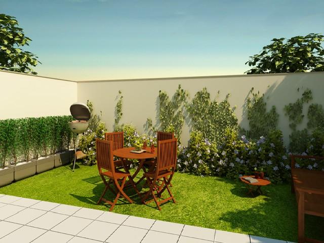 Casas Com Jardins Coloridos5