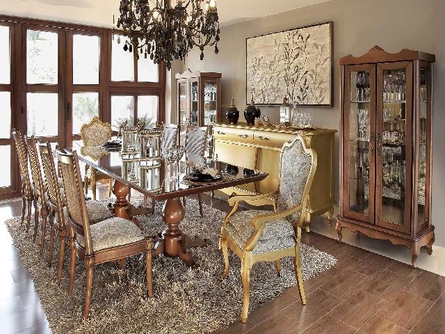 Como Montar Uma Sala De Jantar Estilo Clássica3