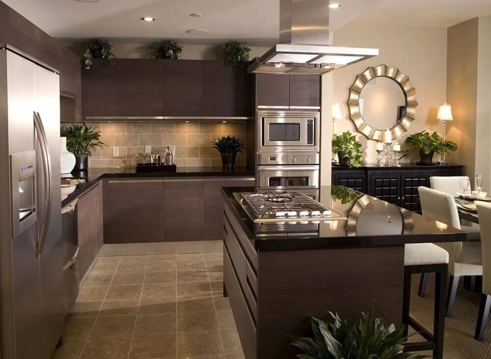 Cozinha Com Granito Preto1