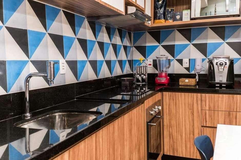 Cozinha Com Granito Preto5