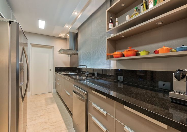 Cozinha Com Granito Preto6