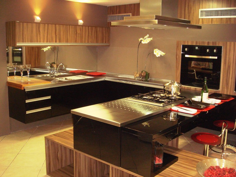 Cozinha Com Granito Preto7