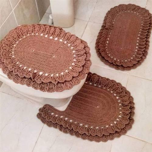 crochê no banheiro simples8