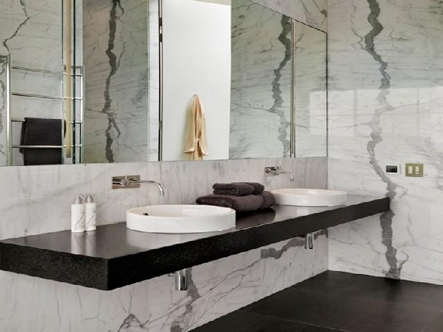 Decoração De Banheiro Simples P&B2
