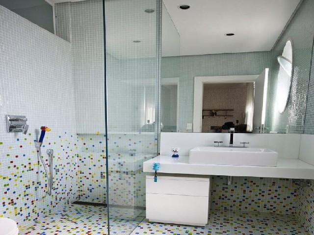 Decoração De Banheiro Simples Com Pastilha2