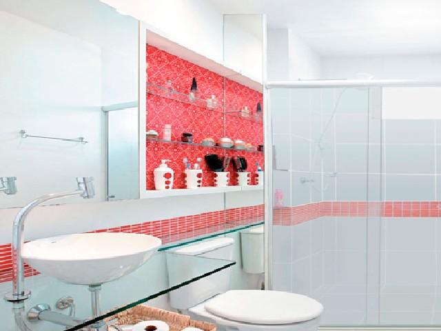 Decoração De Banheiro Simples Com Pastilha4