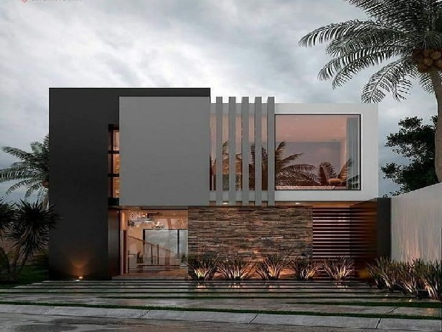 Fotos De Fachadas De Casas Modernas9
