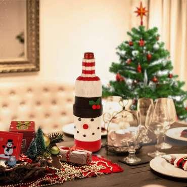 Garrafas Decoradas para o Natal – 50 FOTOS INCRÍVEIS!