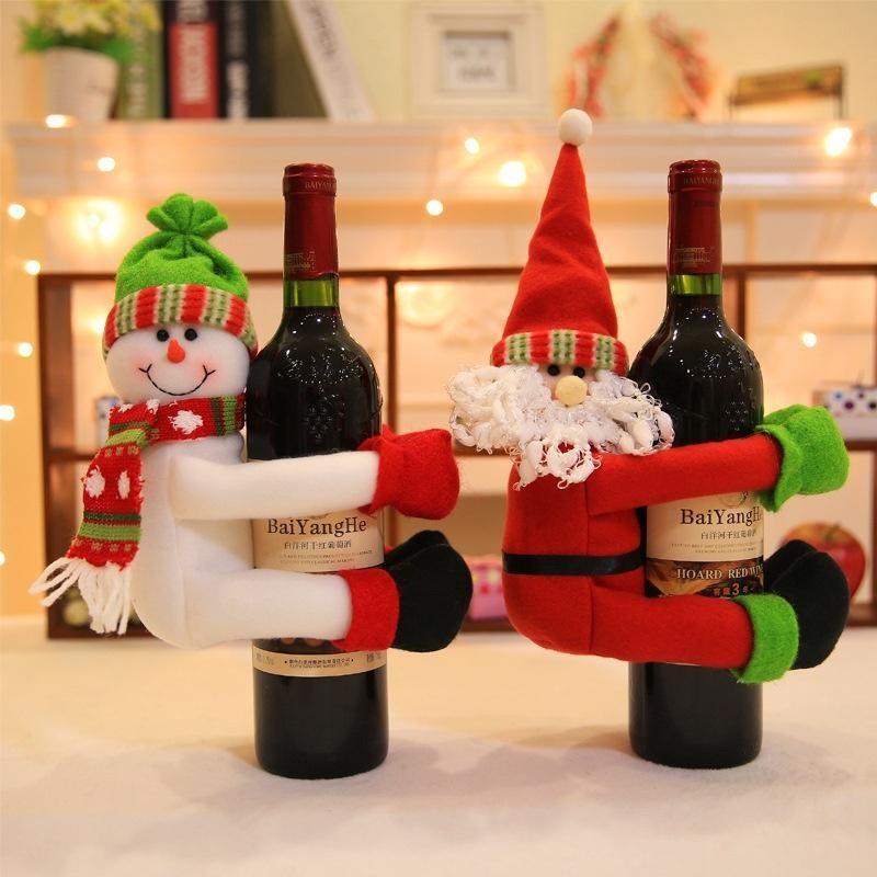 Garrafas Decoradas Para O Natal FOTOS12