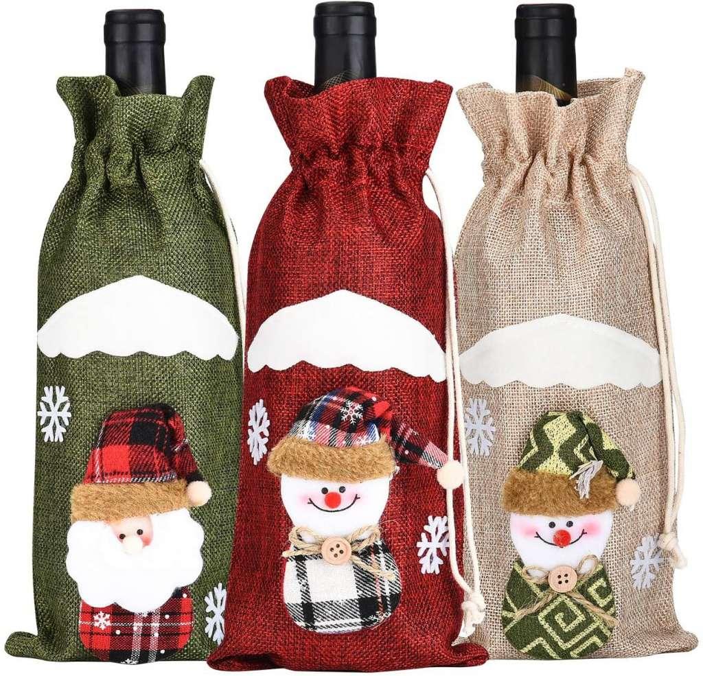 Garrafas Decoradas Para O Natal FOTOS24